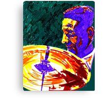 Jazz Portrait-Max Roach Canvas Print