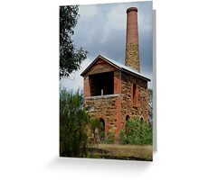 The Duke Of Cornwall Engine House Greeting Card