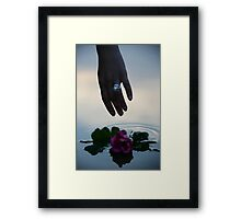 Soft Touch Framed Print