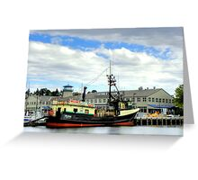 Sea Star ~ HDR/Deadliest Catch ~ Seattle, Washington ~ Greeting Card