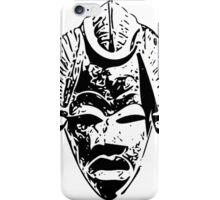 African traditional mask (Black) iPhone Case/Skin