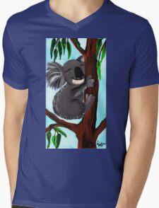 Cute Koala Mens V-Neck T-Shirt
