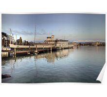 HDR Geneva 8th Nov 2009 - 10 Paddle Steamer Geneva Poster