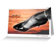 Step Into Life © Vicki Ferrari CardZ Greeting Card