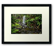 A World Away - Hopetoun Falls - Australia Framed Print