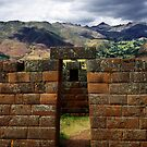 Inca Architecture Of The Sacred Valley - Peru by Matt  Streatfeild