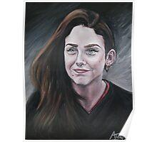 Oil portrait Poster