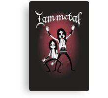 I am Metal Canvas Print