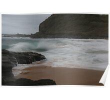 Wild Waves - Garie Beach, NSW Poster
