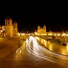 Night Lights - Cusco - Peru by Matt  Streatfeild