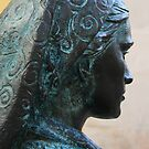 Statue Series - Lost in thought by Christine Oakley