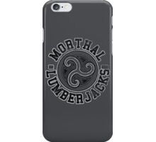 Skyrim - Football Jersey - Morthal Lumberjacks iPhone Case/Skin