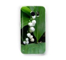 Fragrant lily of the valley Samsung Galaxy Case/Skin