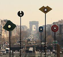 Arc de Triomphe, Paris by Sébastien FERRAND