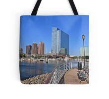 Newport Marina Tote Bag