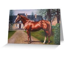Apollo at La Dreyrie, France Greeting Card