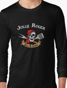 Jolly Roger Bar-B-Crew Long Sleeve T-Shirt