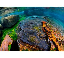 Underwater seascape Photographic Print