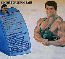The benefits of steam bath by Syd Winer