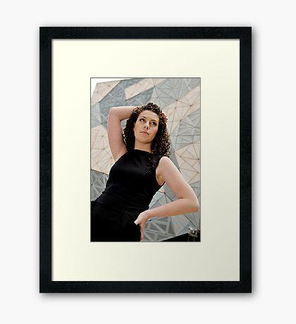 Triangulation #2 Framed Print
