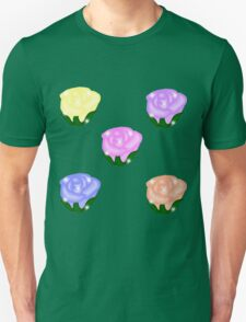 Roses - A garden of Pastel Roses T-Shirt
