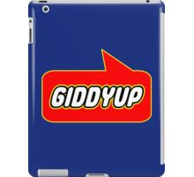 Giddyup, Bubble-Tees.com iPad Case/Skin