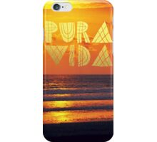 PURA VIDA 4 iPhone Case/Skin