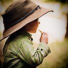 ...her daddy&#x27;s hat... by Geoffrey Dunn