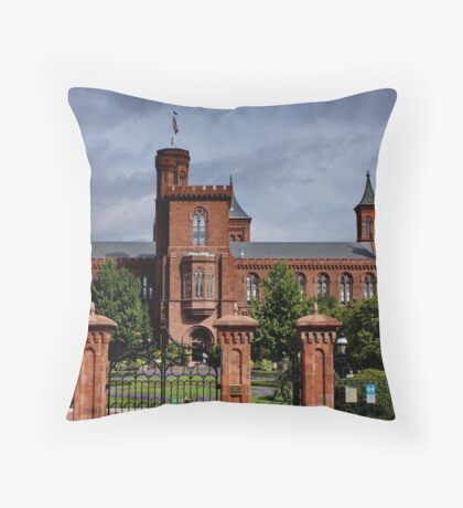 Smithonian Castle, Washington DC Throw Pillow
