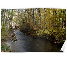 The old mill stream Poster