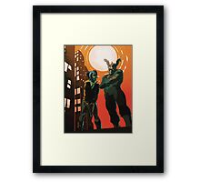 Irma and Alloy Framed Print
