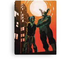 Irma and Alloy Canvas Print