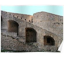 Palamidi, Navplion, Greece Poster