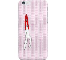 clothespin iPhone Case/Skin