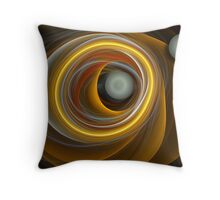 Ovals and circles Throw Pillow