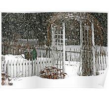 Winter Arbor Poster