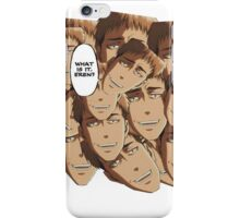 what is it eren iPhone Case/Skin