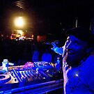 On Stage - DJ Click by Thierry Beauvir