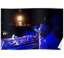 On Stage - DJ Click Poster
