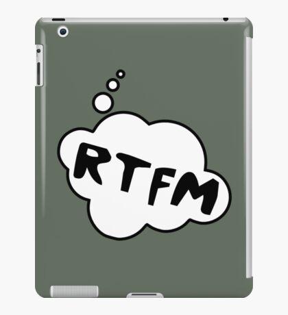 RTFM by Bubble-Tees.com iPad Case/Skin