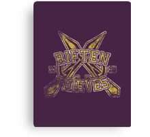 Skyrim - Football Jersey - Riften Thieves Canvas Print