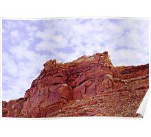 Vermillion Cliffs II Poster