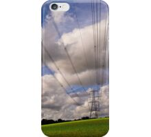 Lines in the Sky iPhone Case/Skin