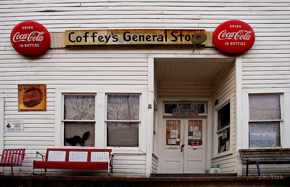 Coffey's General Store by J.K. York
