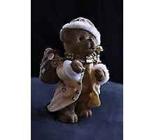 Merry Christmas, little bear Photographic Print