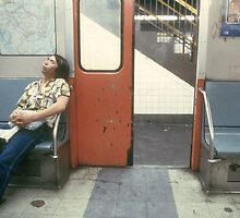 NY Subway by Larry  Grayam