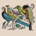 Bird Vine by Todd Smith