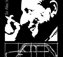 Alec Issigonis Mini by car2oonz