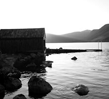 Loch Muick_Winter Evening by xavierd