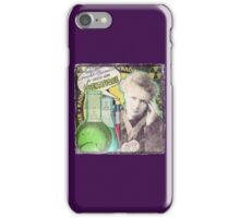 Popular Science: M. Curie (French) distressed iPhone Case/Skin